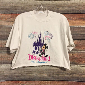 Disney mickey mouse cut off crop top